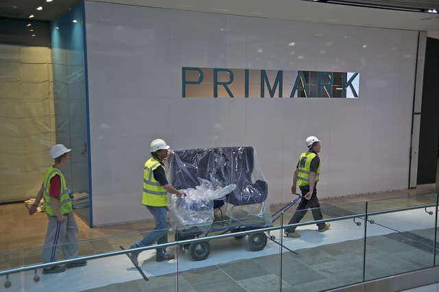 Yes, there's a Primark.