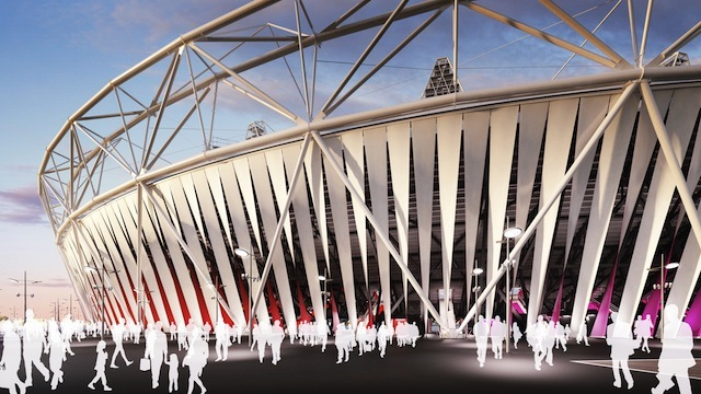 Olympic Stadium Will Be Wrapped