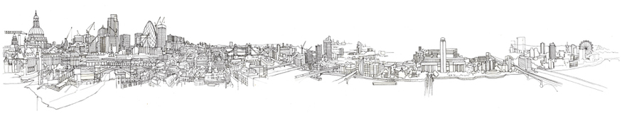A London panorama (commissioned for Pagefield).