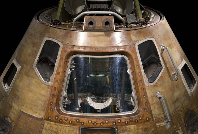 Take A Look Inside An Apollo Moon Capsule