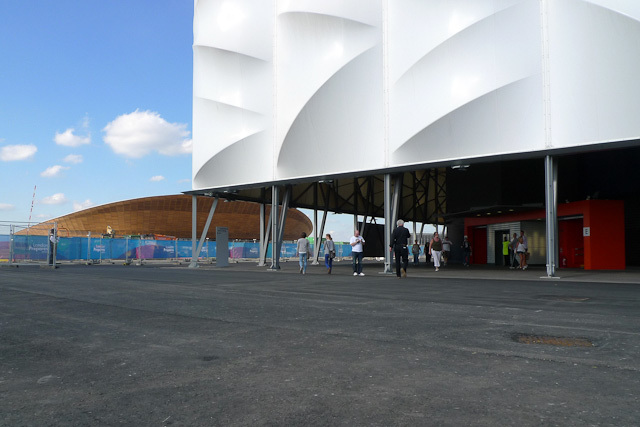 The arena, with the Velodrome in the background. Photo / DeanN