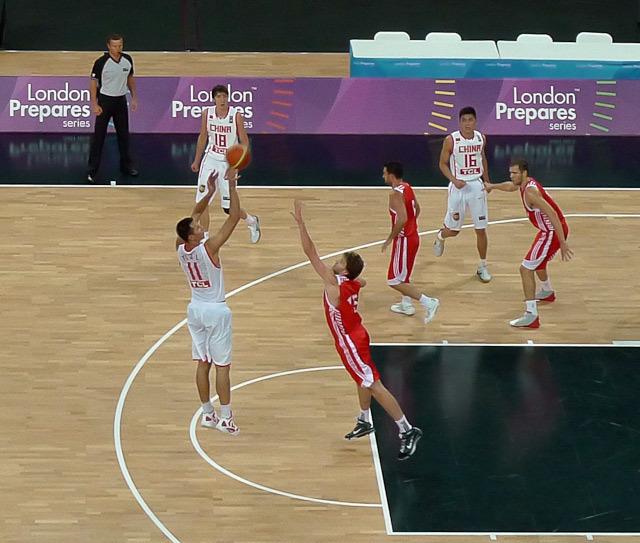 China vs. Croatia. Photo / DeanN