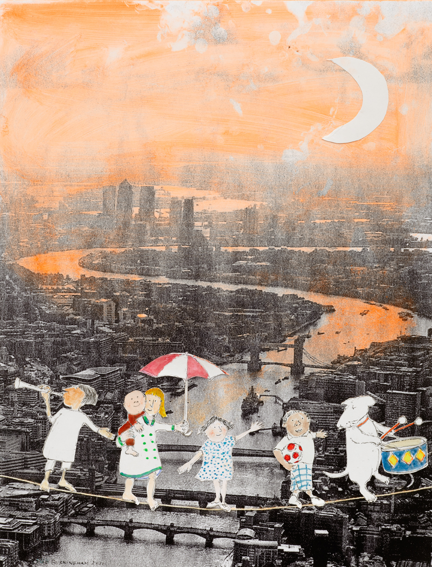 Children's London, John Burningham 2011