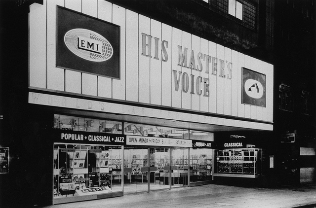 HMV in the 1960s