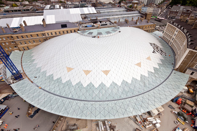 Aerial view of the new concourse. Photo / John Sturrock