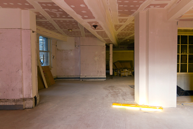Part of the old parcels depot, this space will be transformed into a pub.