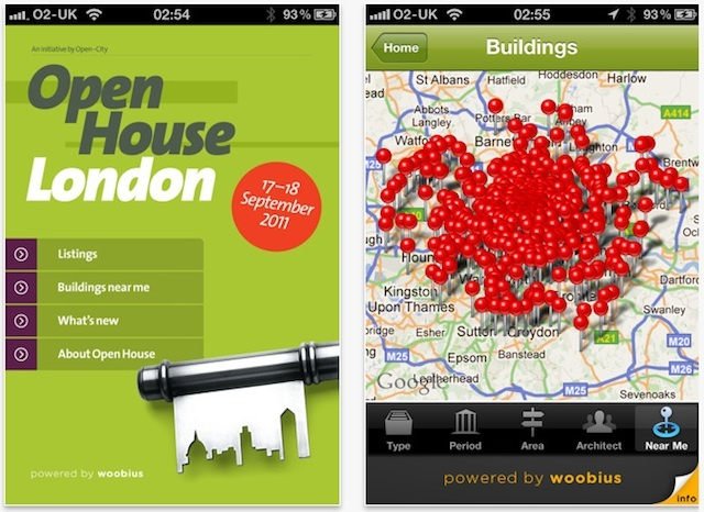 App Review: Open House London 2011