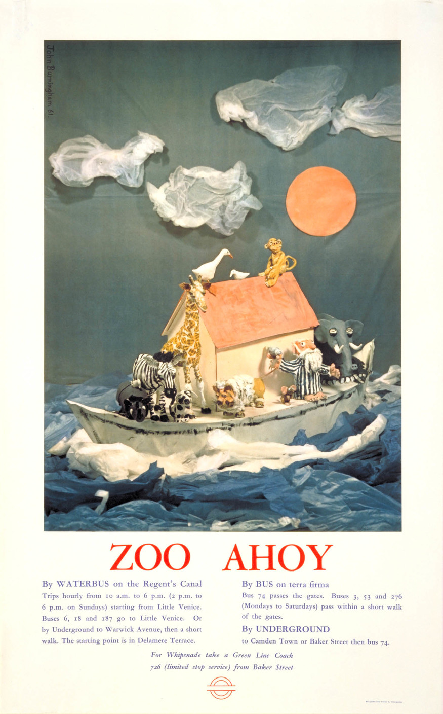 Zoo ahoy, by John Burningham, 1961