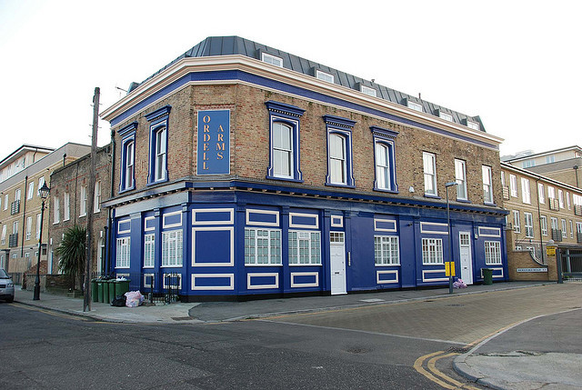 The Ordell Arms in Bow.