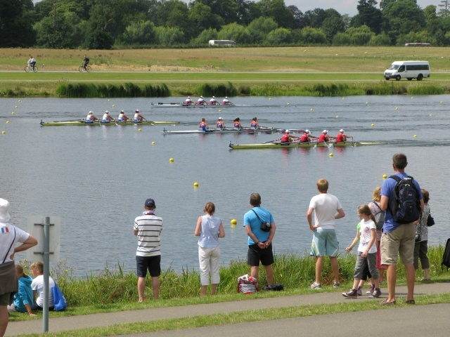 Olympic Test Event: World Rowing Junior Championships @ Eton Dorney