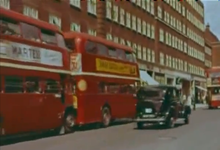 Video: Driving Round London In The 1950s