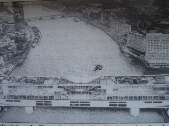 The Crystal Span at Vauxhall, from the 1960s