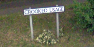 Is This London's Oddest Street Name?