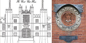 Restoration Of Hampton Court Roundels Reveals London Origin