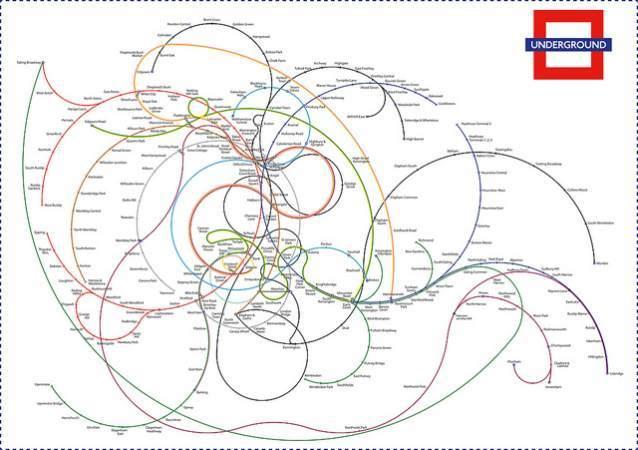Alternative Tube Maps The Twisted London Underground