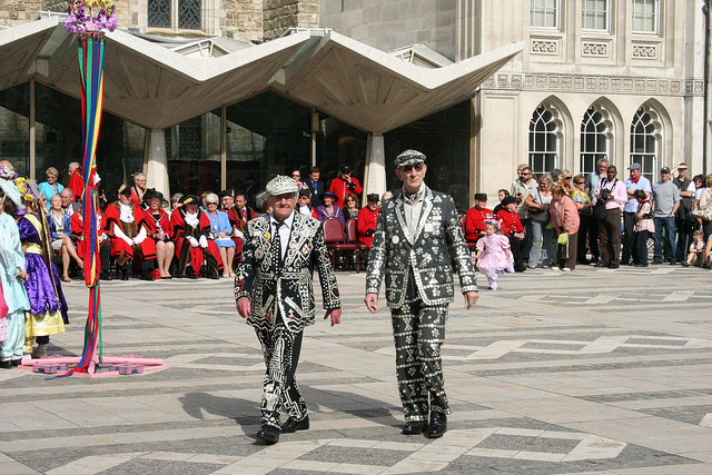 Pearly Kings at the Costermongers Harvest Festival by Ian Visits