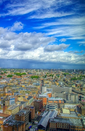 View from Broadgate tower by yorkshire stacked