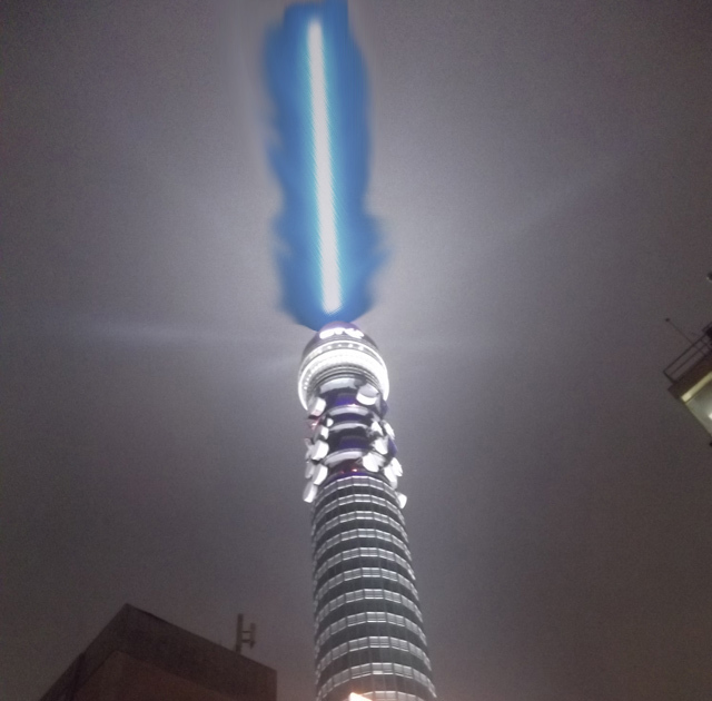 BT Tower To Become Giant Lightsaber