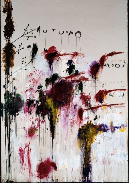 Twombly & Poussin: Late @ Dulwich Picture Gallery