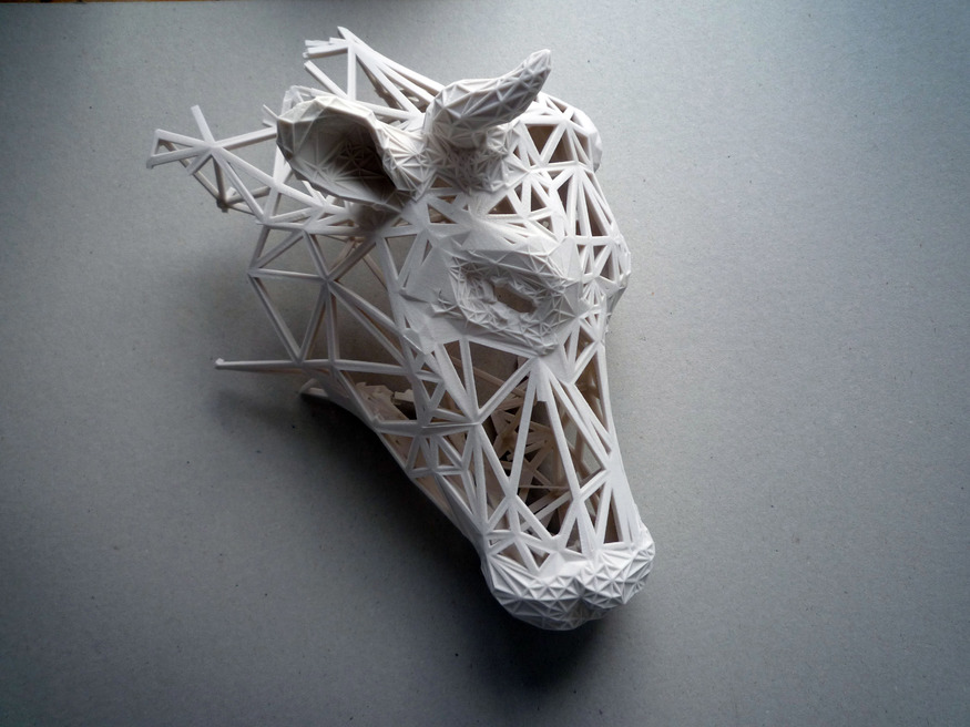 Cultivating Faith : Structural Study Model, Rapid Prototype, 2009 by Tom Greenall (c) Tom Greenall.