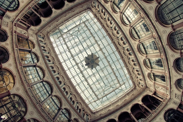 Durbar Court, at the heart of the India Office, which is part of the Foreign and Commonwealth Office estate at Whitehall by Martin Turner