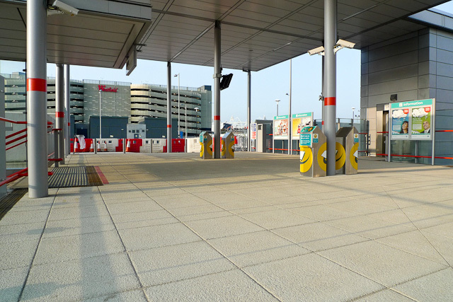 The entrance from Stratford International to Westfield