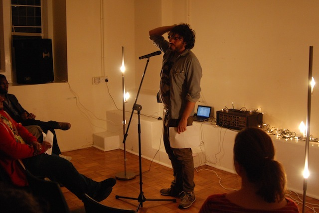 Ross Sutherland performed the poem he wrote for Londonist: Poem Looked Up On Google Streetview