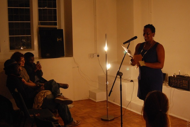 Lewisham local and prime mover behind the Lewisham Lit Fest kids poetry competition, Janett Plummer ended with her excellent poem about being a Brummy in London