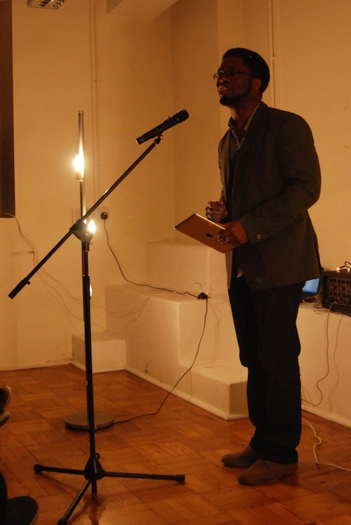 Jacob Sam-La Rose - another Lewisham local - debuted an awesome urban poem and told us our dreams