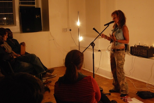Peckhamite, Liz Bentley gave us pre- and post- separation poems, ending with a song about taking a small child to Sainsburys - warning, don't go on holiday with her :)