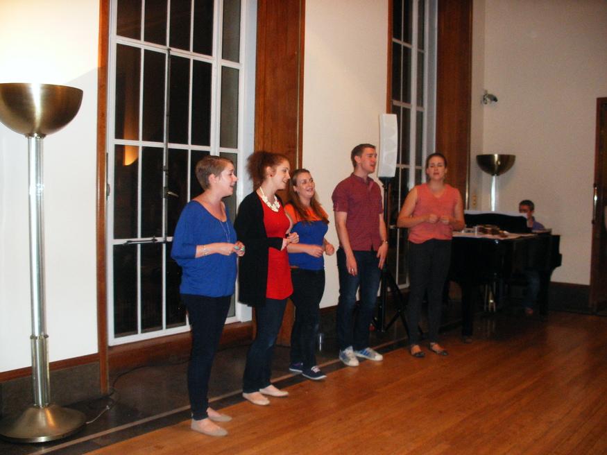 Singing at RIBA