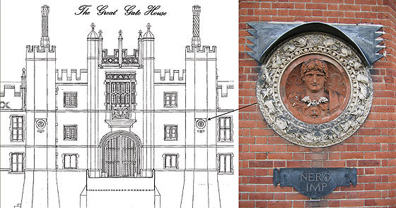 Restoration Of Hampton Court Roundels Reveals London Origin