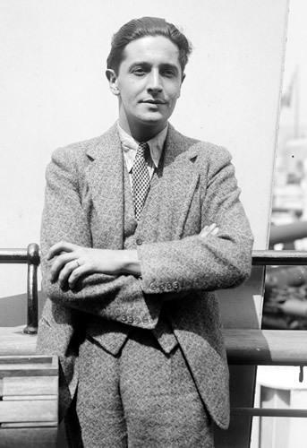 Welsh born composer, singer and actor David Ivor Davies: better known as Ivor Novello