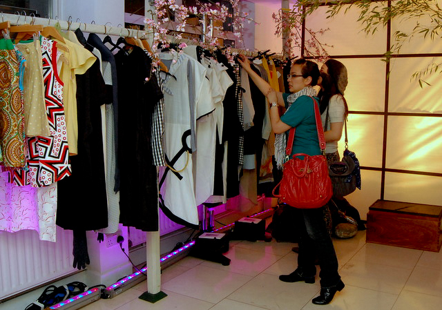 The show featured around a dozen international designers including some from Japan and Norway.