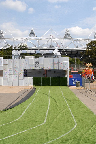 On Your Marks, Get Set To Run In The Olympic Stadium