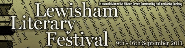 Preview: The First Lewisham Literary Festival