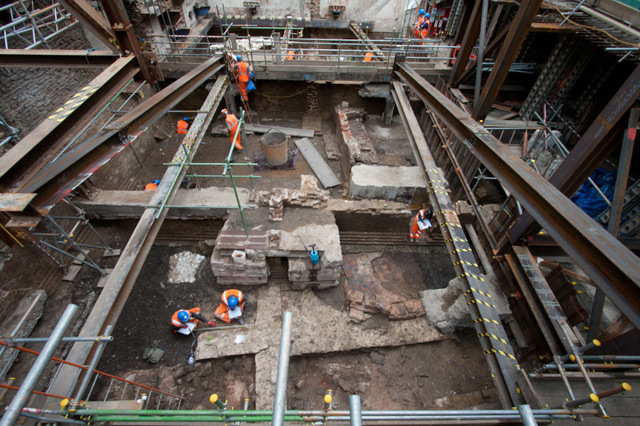 Remains Of Roman Bath Found In Borough