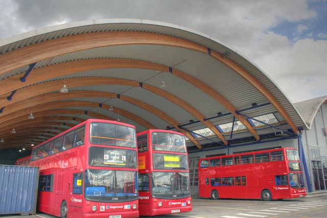 West Ham Bus Garage by Ian Visits
