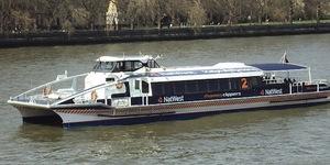 Thames Clipper Crashes Into Pier