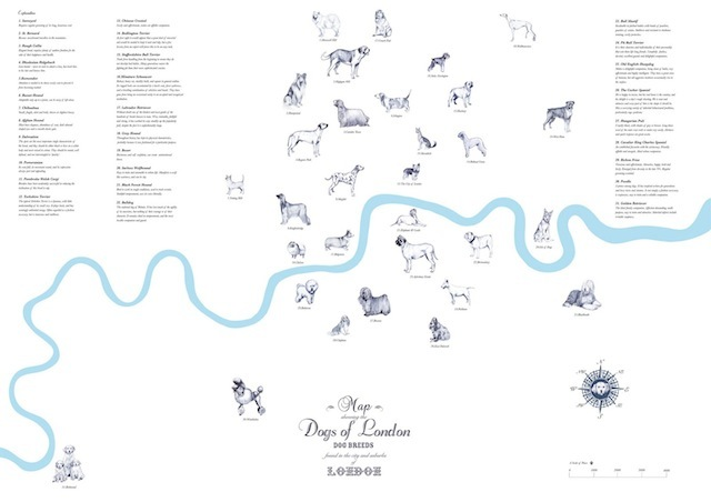 The Dogs Of London Map