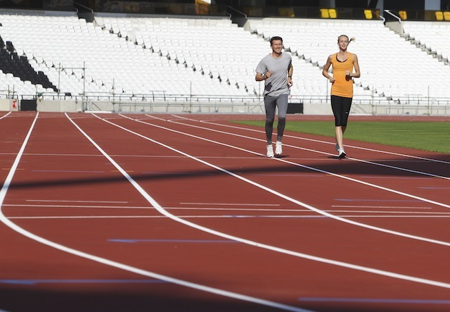 Olympic Stadium Athletics Track Is Finished