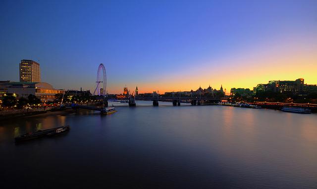 Waterloo Sunset, by bobaliciouslondon