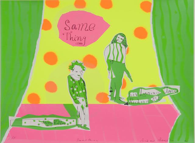 Bob and Roberta Smith - Untitled, Screenprint, 2011