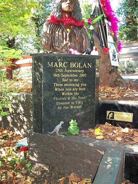 Did you know about this sycamore tree shrine to Marc Bolan?