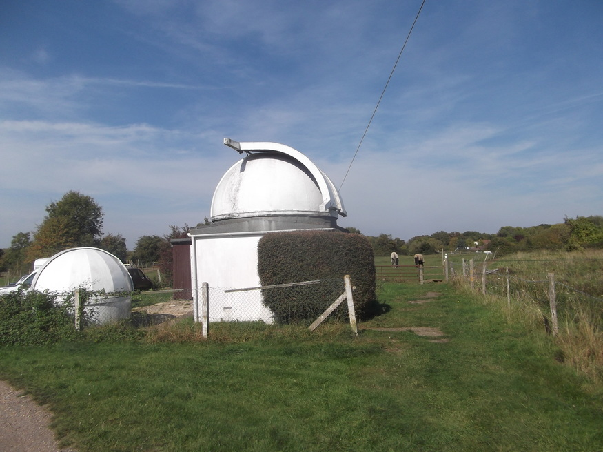 A private observatory.