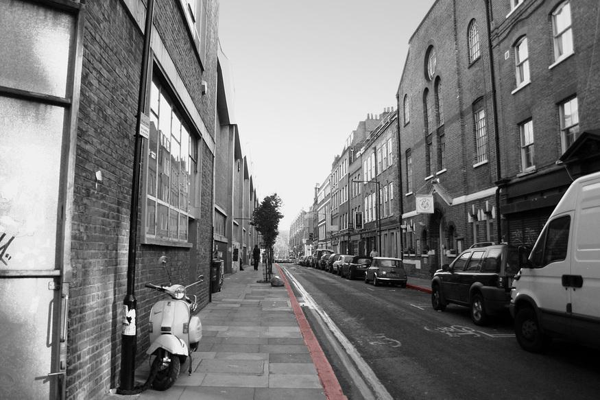 Hanbury Street - Body of Annie Chapman found in 1888, murdered by Jack the Ripper