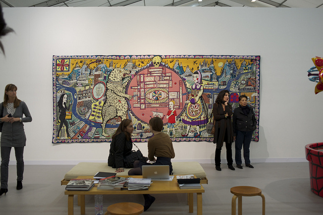 Grayson Perry, Map of Truths and Beliefs, Victoria Miro, London. Photo by Chris Osburn.