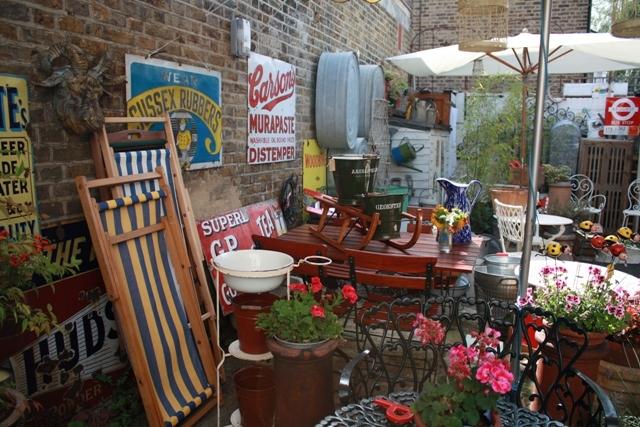North Cross Road Vintage Store garden.jpg ...