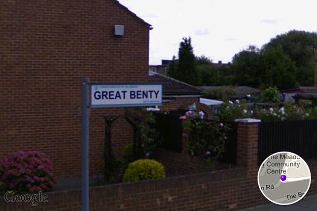 Another 'G', Great Benty, north of Heathrow.