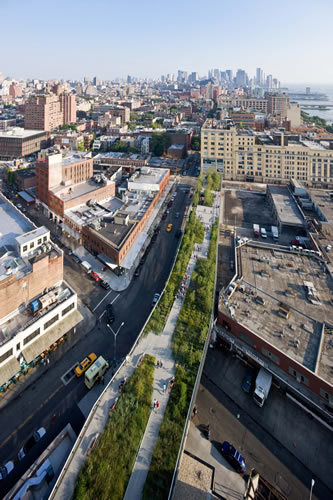 Elizabeth Diller, The High Line, New York © Iwan Baan